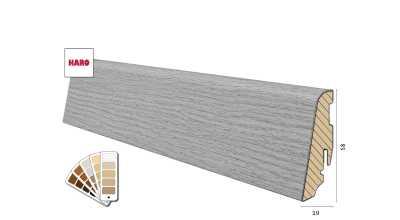 Medinė Faneruota grindjuostė Haro 19*58 (74 dekorai) nuotrauka