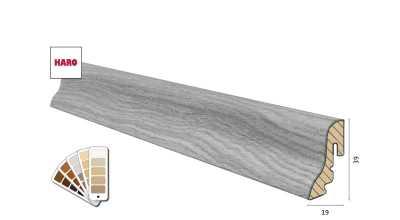 Medinė Faneruota grindjuostė Haro 19*39S (17 dekorų) nuotrauka