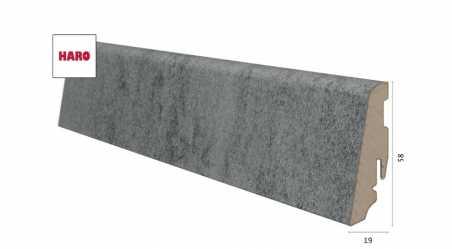 Laminuota grindjuostė Haro Celenio Athos Concrete Grey 19*58 MM