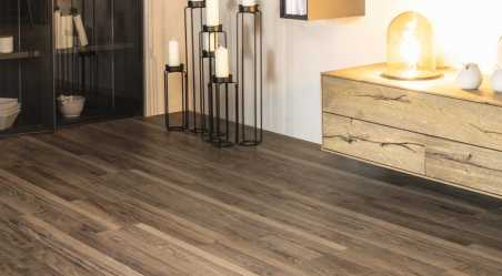 Laminuotos grindys Kaindl Classic Touch Standard 8.0 Riešutas Multistrip Avelo