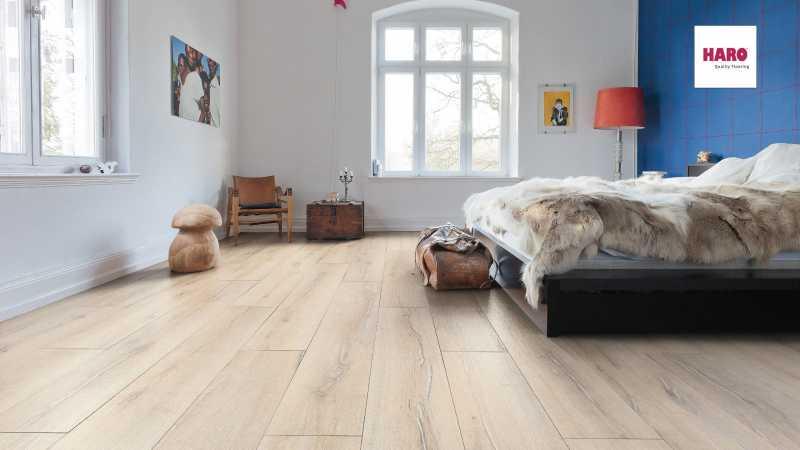 Laminuotos grindys Haro Tritty 90 Ąžuolas Scandinavian nuotrauka