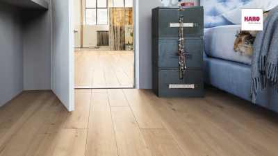 Laminuotos grindys Haro Tritty 90 Ąžuolas Melina Puro nuotrauka
