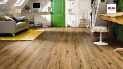 Laminuotos grindys Haro Tritty 100 Ąžuolas Italica Nature