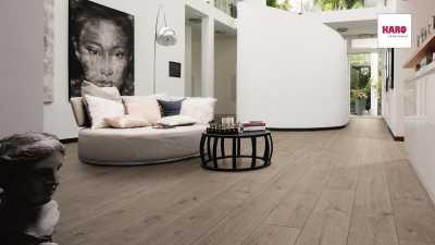 Laminuotos grindys Haro Tritty 100 Gran Via Ąžuolas Portland