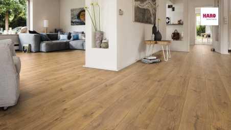 Laminuotos grindys Haro Tritty 100 Gran Via Ąžuolas Portland Nature