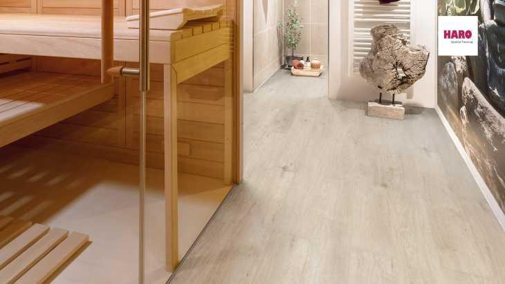 Laminuotos grindys Haro Tritty 200 Aqua Ąžuolas Sicilia White