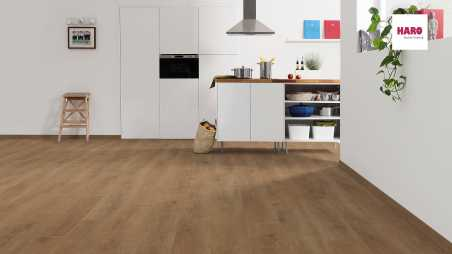 Laminuotos grindys Haro Tritty 200 Gran Via Aqua Ąžuolas Veneto Honey
