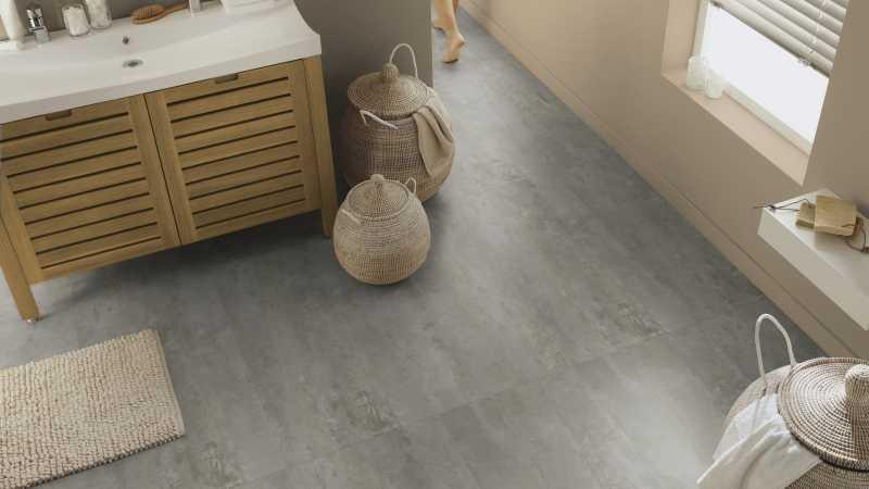 Vinilo danga Tarkett Starfloor Click 55 PLUS Rough Concrete