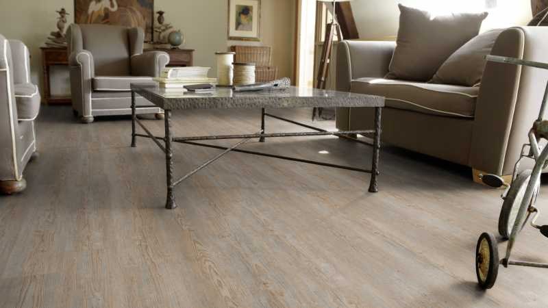Vinilo danga Tarkett Starfloor Click 55 Pušis Brushed Grey
