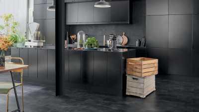 Vinilo danga Tarkett Starfloor Click 55 Vintage Zinc Black