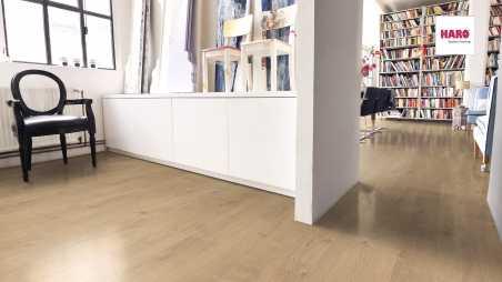 Laminuotos grindys Haro Tritty 100 Loft Ąžuolas Portland Puro
