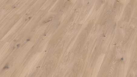 Trisluoksnė parketlentė Boen Plank Ąžuolas White Vivo 138 MM