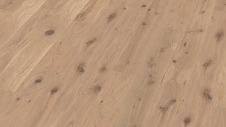Trisluoksnė parketlentė Boen Plank Ąžuolas White Vivo 209 MM