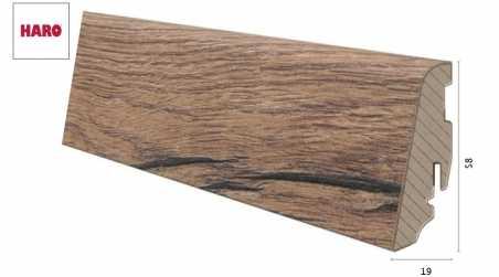 Laminuota grindjuostė Haro Ąžuolas Italica Nature 19*58 MM