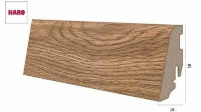 Laminuota grindjuostė Haro Ąžuolas Portland Nature 19*58 MM