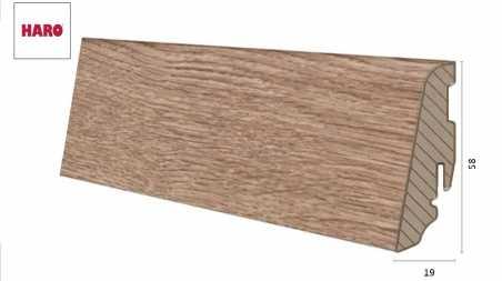 Laminuota grindjuostė Haro Ąžuolas Savona Nature 19*58 MM