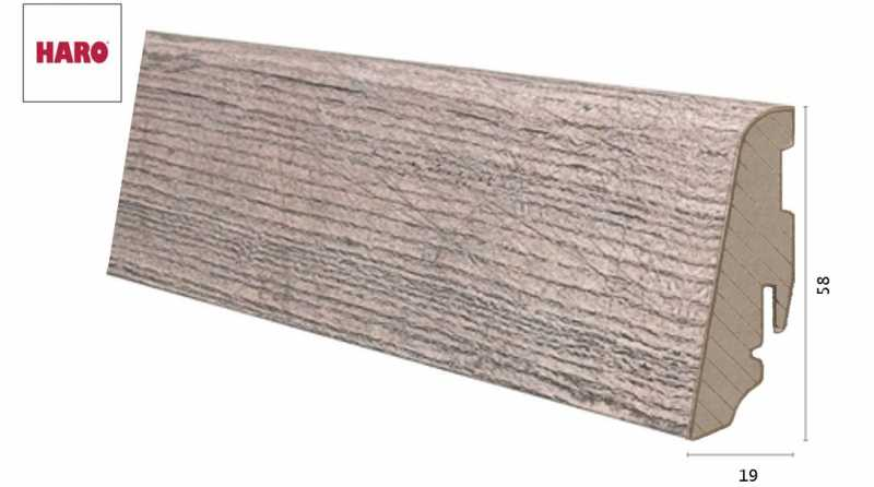 Laminuota grindjuostė Haro Chestnut Impresso 19*58 MM nuotrauka