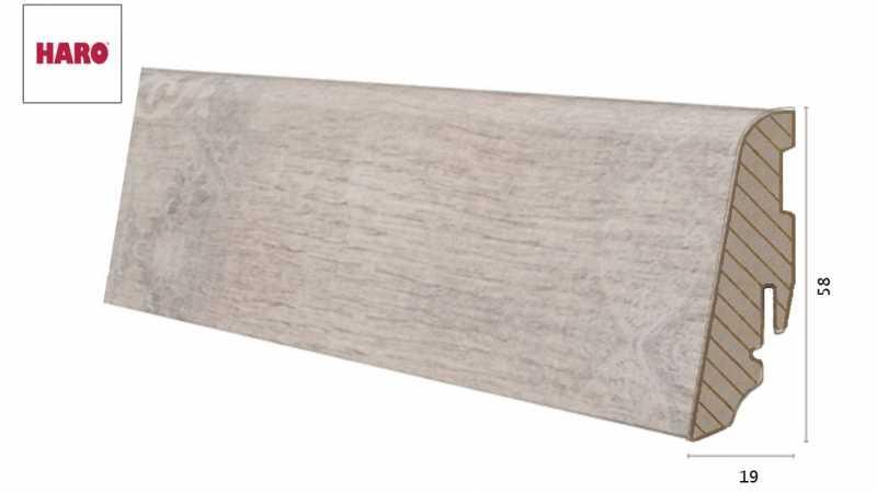 Laminuota grindjuostė Haro Stone Wood Creme 19*58 MM nuotrauka