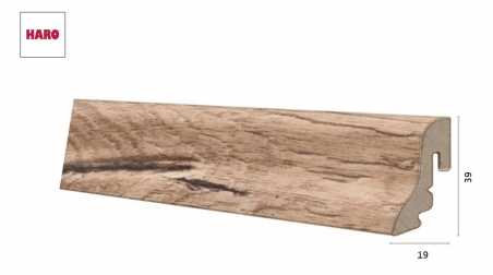 Laminuota grindjuostė Haro Ąžuolas Italica Creme 19*39S MM