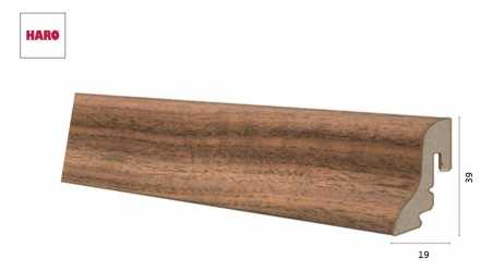 Laminuota grindjuostė Haro Riešutas Ambiente  19*39S MM
