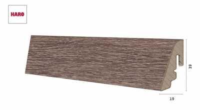 Laminuota grindjuostė Haro Ąžuolas Corona 19*39 MM nuotrauka