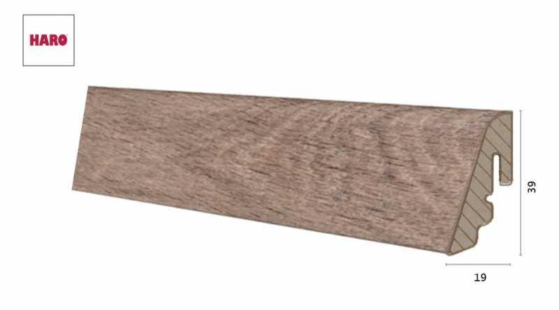 Laminuota grindjuostė Haro Ąžuolas Livorno Smoked 19*39 MM