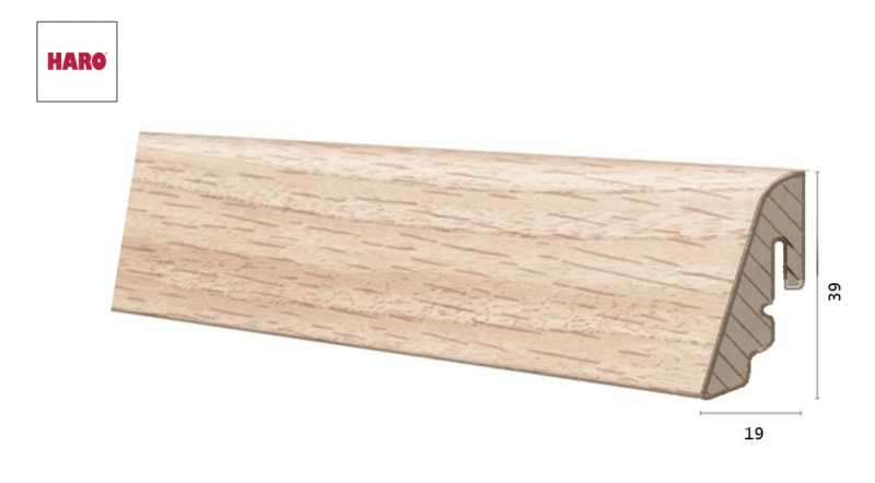 Laminuota grindjuostė Haro Ąžuolas Holm 19*39 MM nuotrauka