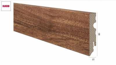 Laminuota grindjuostė Haro Iroko 15*80 MM nuotrauka