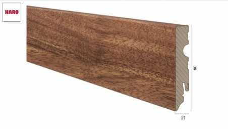 Laminuota grindjuostė Haro Iroko 15*80 MM