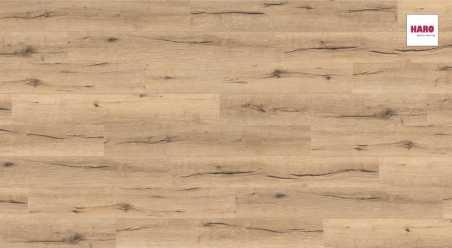 Laminuotos grindys Haro Tritty 90 Ąžuolas Italica Creme su akustiniu SILENT PRO paklotu