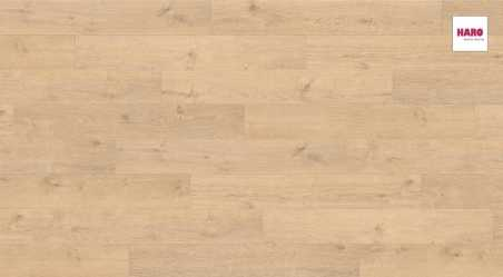 Laminuotos grindys Haro Tritty 100 Ąžuolas Portland Puro su akustiniu SILENT PRO paklotu
