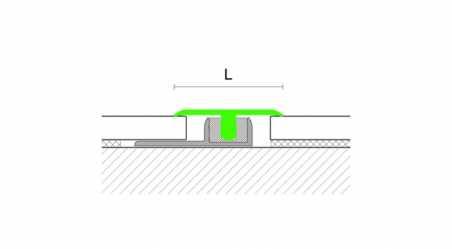 Grindų jungimo profilis Z3 Uosis Tamsus