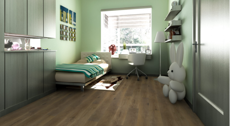 Vinilo danga Fatra Thermofix Wood Uosis Brown 2 MM nuotrauka