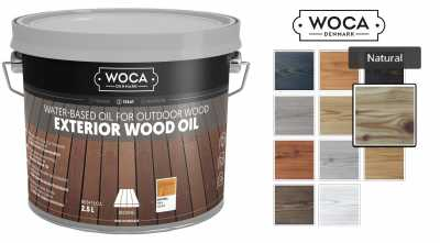 Alyva terasoms Woca Exterior Oil Natural, 2,5 L nuotrauka