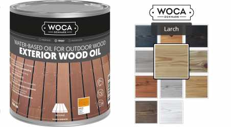 Alyva terasoms Woca Exterior Oil Larch, 0,75 L nuotrauka