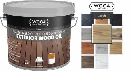 Alyva terasoms Woca Exterior Oil Larch, 2,5 L nuotrauka