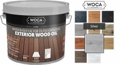 Alyva terasoms Woca Exterior Oil Silver, 2,5 L nuotrauka