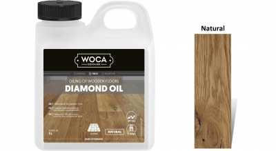 Alyva medinėms grindims Woca Daimond Oil Natural, 1 L nuotrauka