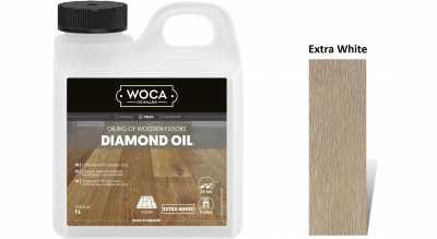 Alyva medinėms grindims Woca Daimond Oil Extra White, 1 L