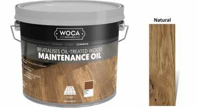 Alyva medinėms grindims Woca Maintenance Oil Natural, 2,5 L