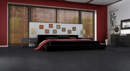 Vinilo danga Fatra Thermofix Stone/Textile Skalūnas Black Standard 2,5 MM