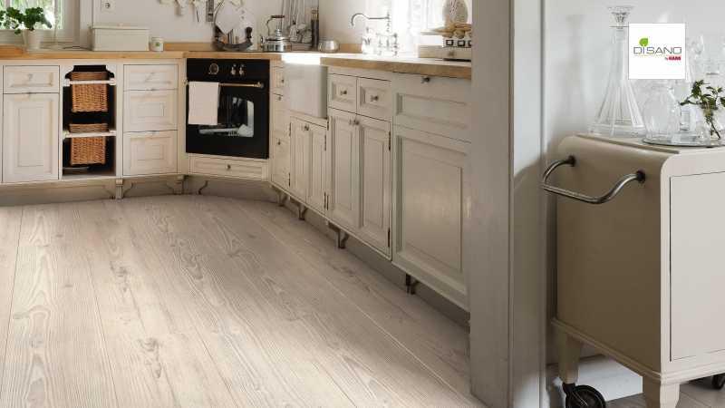 Design grindų danga Haro Disano Classic Aqua Pušis Nordica
