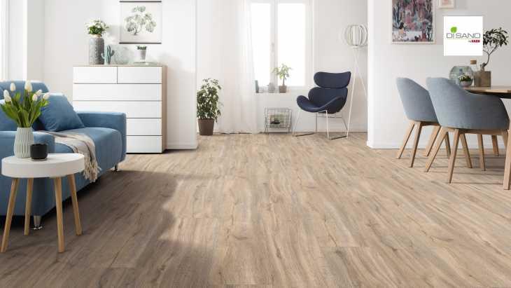 Design grindų danga Haro Disano Classic Aqua Ąžuolas Holm Creme