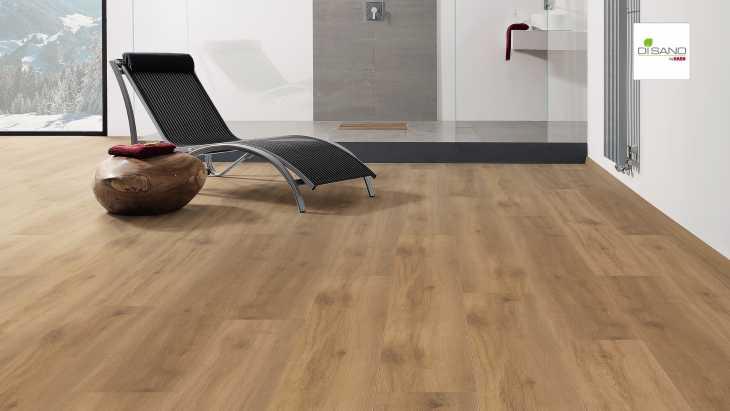 Design grindų danga Haro Disano Classic Aqua Ąžuolas Provence Smoked