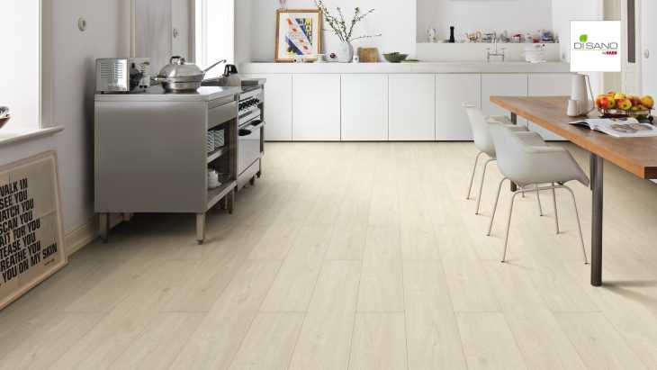 Design grindų danga Haro Disano SmartAqua Ąžuolas Natural White