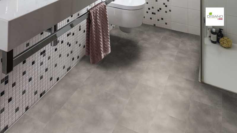 Design grindų danga Haro Disano SmartAqua Betonas Grey nuotrauka