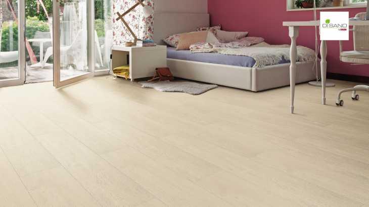Design grindų danga Haro Disano Life Ąžuolas Natural White
