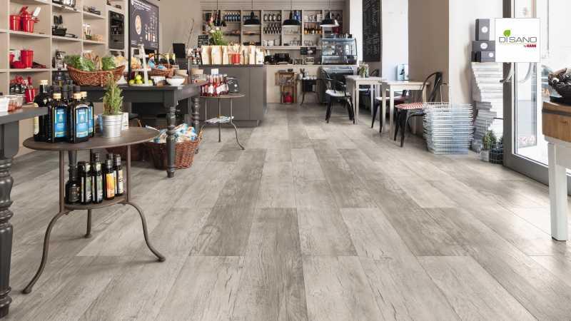 Design grindų danga Haro Disano Project Ąžuolas Country Grey