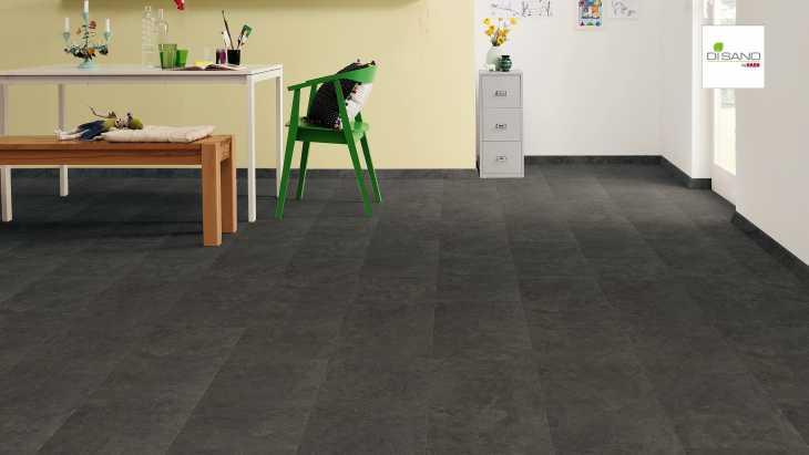 Design grindų danga Haro Disano Project Piazza Antracitas Stale