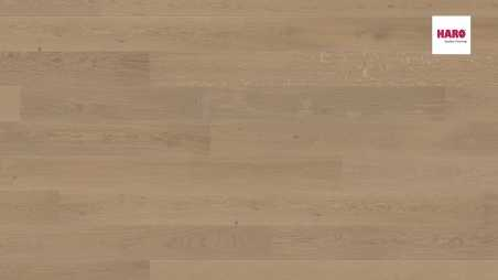 Trisluoksnė parketlentė Haro Plank Ąžuolas Sand Grey Markant 4V